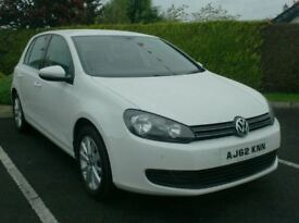 2012 Vw Golf Match, High Spec, in White!!