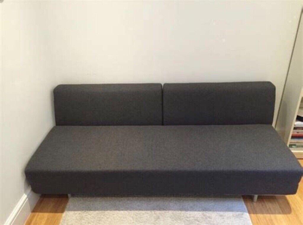 Peachy Muji Charcoal Sofa Bed Review Baci Living Room Beutiful Home Inspiration Ommitmahrainfo