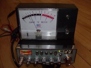 ÉMETTEUR RADIO CB COBRA 29 NW WX ST AVEC JOMBO S METER 75$!!!