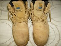 Mens steel toe capped boots