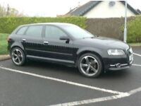 2011 A3 1.6Tdi Sportback, £20 Tax, brand new 18inch Alloys