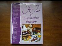 A ~ Z of Alternative Therapy HARDBACK Unused