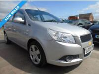 CHEVROLET AVEO 1.2 LS 5d 1 YEAR MOT FULL SERVICE **3 MONTHS WARRANTY INCLUDED** (silver) 2009