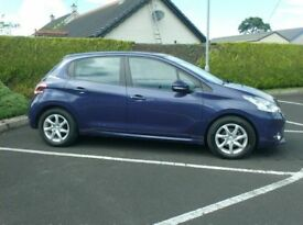 2014 Peugeot 208 1.4Hdi Active, One Owner , free tax..