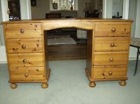 Solid Pine Desk £125