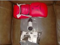 Brand New 14oz Boxing Gloves & Jump Rope