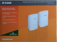 D-Link DHP-501AV PowerLine AV 500 Adapter Starter Kit