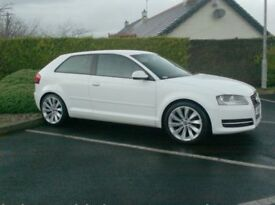 Audi A3 1.6Tdi, 3 Door In white!!! Free Tax, 18inch Alloys