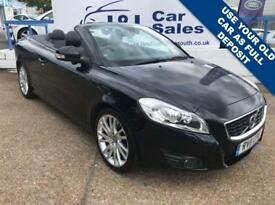 VOLVO C70 2.0 D3 SE LUX 2d 148 BHP A GREAT EXAMPLE INSIDE AND OUT (black) 2011