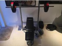 Bench with 60KG