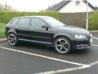 2011 A3 1.6Tdi Sportback, £20 Tax, brand new 18inch Alloys
