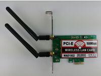 Wireless Lan Card WLAN WiFi b/g/n card 150mbps PCI-E x1