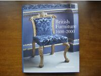 British Furniture 1600 – 2000. HARDBACK