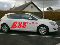 2012 Vauxhall Astra 1.7Cdti, Free tax, In White.