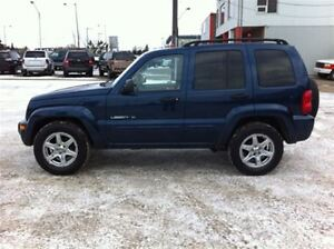 2003 Jeep Liberty LEATHER/SUNROOF/LOADED