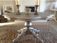 Gorgeous silver table