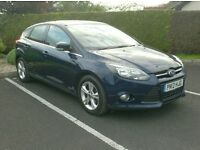 2012 Ford Focus 1.6Tdci Zetec, One Owner Uk Company car.