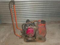 BELLE WACKER PLATE (Honda Engine c/w Water Tank)