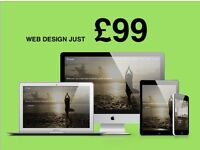 Your new website just £99