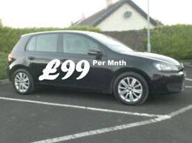 2011 Vw Golf 1.6Tdi Match, High Spec, Full History £30 tax.