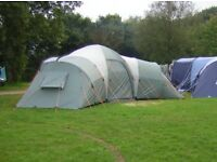 VANGO Diablo XP600 6 man tent; comes with a Tent Pitching DVD