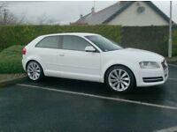 Audi A3 1.6Tdi, 3 Door In white!!! Free Tax, 18inch Alloys
