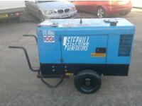 STEPHILL 10KVA 8KW SUPER SILENT SSD1000S DUAL VOLTAGE DIESEL GENERATOR