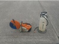 "STIHL TS420 14"" 2 STROKE PETROL CUT OFF SAW (c/w New Diamond Blade & Dust Suppression Bottle)"