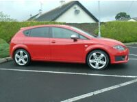 2012 Seat Leon Fr Plus, 170bhp, With Leather and Nav.