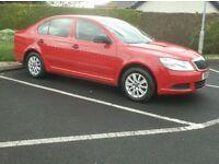 2011 Skoda Octavia 1.6tdi Bright Red, Only £30 to tax
