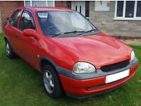 Corsa B 1.2 for sale well maintained with many new parts, very economical with great engine.