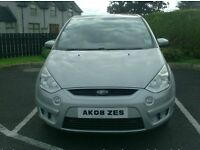 2008 Ford Smax, High Spec, Service history, Sat Nav, Panoramic Roof