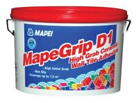 Mapei D1 TILE ADHESIVE JOB LOT 5 TUBS !!