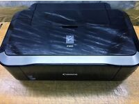 Canon PIXMA iP3600 Printer With Power Cable PC Cable and some inks In Original Box