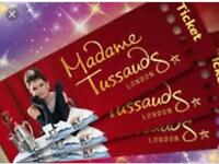 Madame Tussaud's 4 tickets