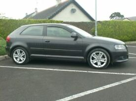 2009 Audi A3 1.9Tdi Sport, £30 tax, lovely colour