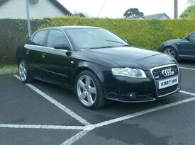 2007 Audi A4 Sline, 1.9tdi Just in from the uk.