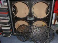 Empty 4x10 Speaker cabinet