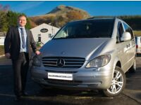 Fully insured drivers & Mercedes vehicles for hire. Up to sixteen passengers. Airport transfers etc.