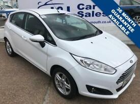FORD FIESTA 1.2 ZETEC 5d 81 BHP A GREAT EXAMPLE INSIDE AND OUT (white) 2013