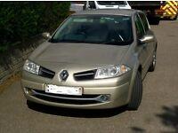 Renault Megane 2008 Gold 1.9 Diesel 45-50mpg 5 door hatchback