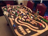 Brio and Bigjigs Wooden Railway Accessories
