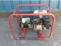 3KVA DUAL VOLTAGE PETROL GENERATOR 110v/240v (Honda Engine)