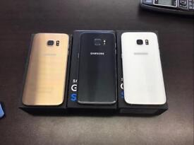 Samsung S7 edge 32 GB unlocked to all networks immaculate condition with warranty and accessories
