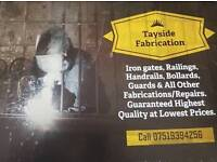 Tayside fabrication welder gates and railings