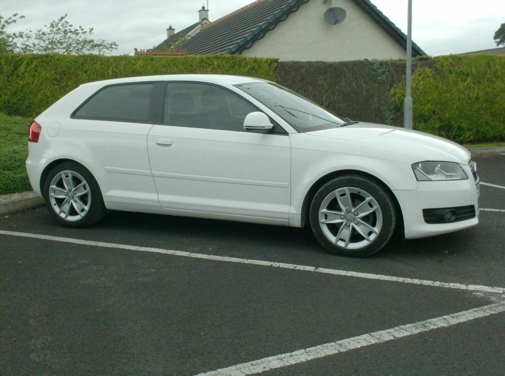 2009 Audi A3 1.9tdi Sport, White 3 Door, £30 Tax, Choice