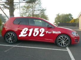 2013 Vw Golf 1.6Tdi Se Tech, 3 Door in Red, Finance available