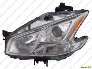 Head Lamp Driver Side High Quality Nissan MAXIMA 2009-2014