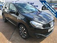 NISSAN QASHQAI 1.6 N-TEC PLUS IS DCIS/S 5d 130 BHP A GREAT EXAMPLE INSIDE AND OUT (black) 2012