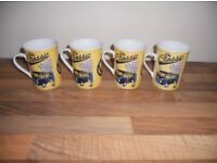 Four official Vw mugs new unused